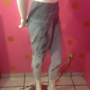 M. Rena's high waist crop printed leggings
